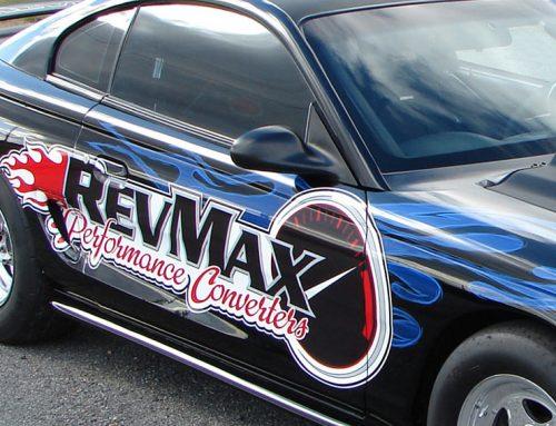 RevMax Performance Racing Car- Close Up
