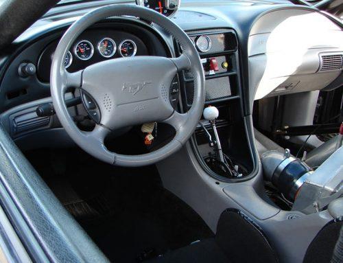 RevMax Performance Racing Car- Interior View