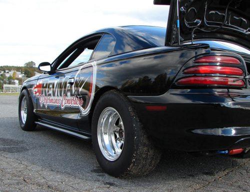 RevMax Performance Racing Car – Trunk View