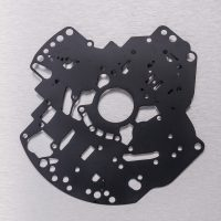 68RFE Custom Coated Transmission Pump Plate