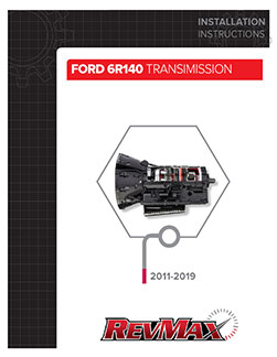 Ford 6R140 Transmission Instructions